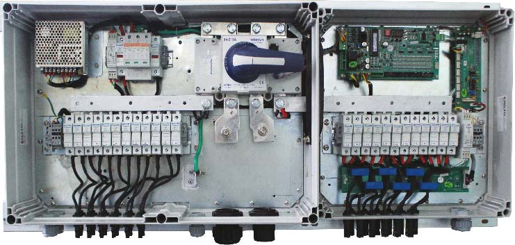 Solar Pv Combiner Box Wiring Array Junction String