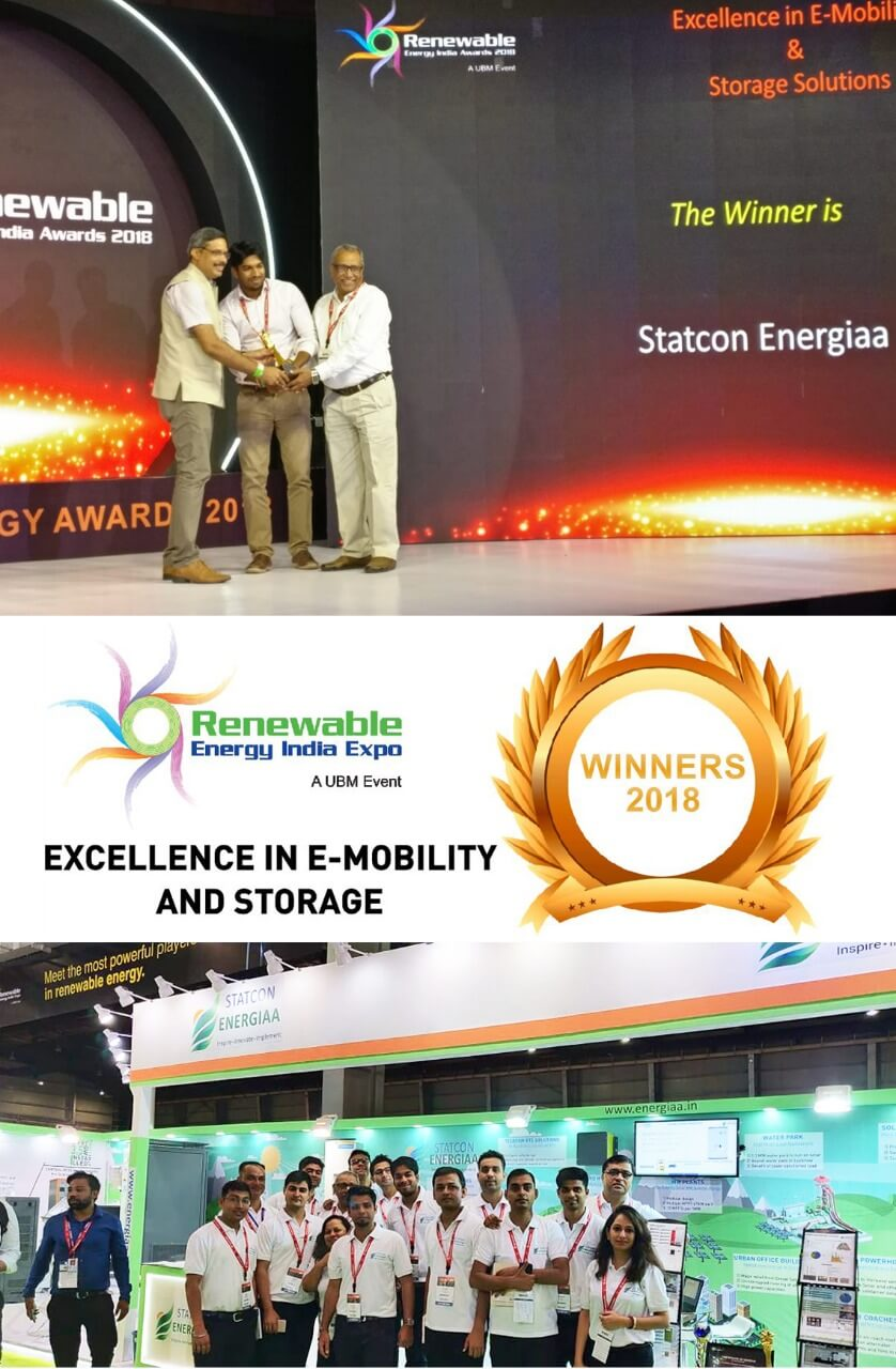 Statcon Energiaa Win Excellence In E Mobility And Storage