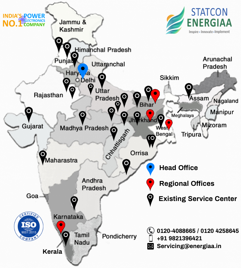 Statcon Energiaa Service Center in India