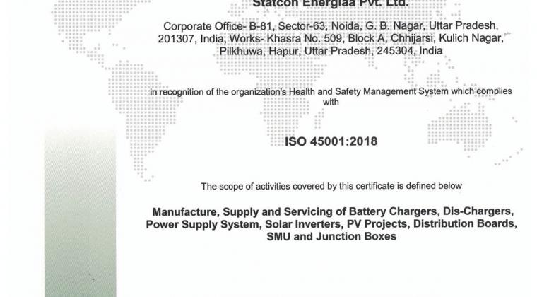 StatconEnergiaa ISO 450012018